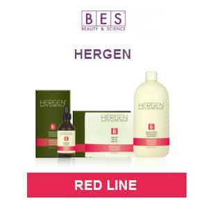 Кислородная косметика HERGEN - RED LINE