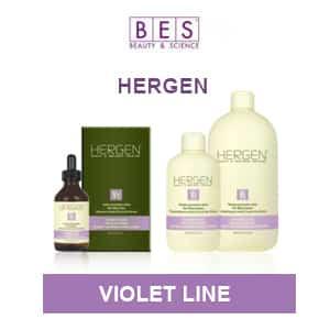 Кислородная косметика HERGEN - VIOLET LINE