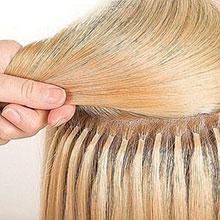 Капсульное наращивание волос в москве